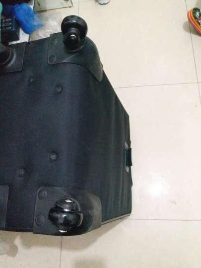 茵语拉杆箱行李旅行皮箱包静音轮子万向轮子维修理轱辘配件 45*18黑 晒单图