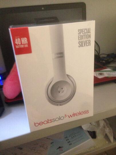 Beats Solo3 Wireless 头戴式无线蓝牙耳机 浅紫色 晒单图