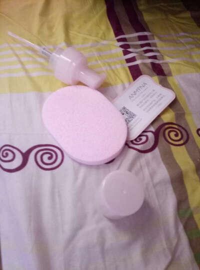 安米娜氨基酸泡沫刷头洗面奶150毫升 男女士深层清洁温和洁面乳卸妆补水保湿控油清洁毛孔黑头 晒单图