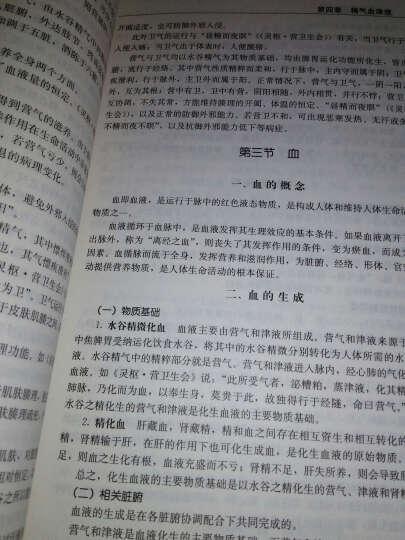 """卫生部""""十二五""""规划教材·全国高等中医药院校教材:中医基础理论(第2版) 晒单图"""