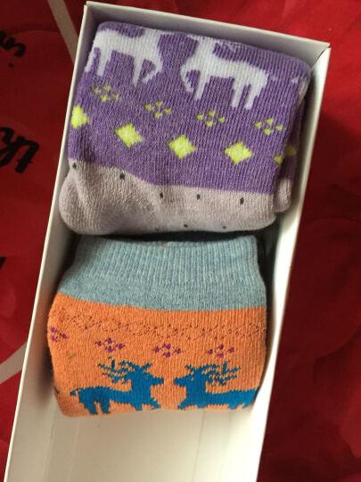 猫人秘密(MIIOW SECRET)袜子女袜中筒保暖毛巾袜船棉质休闲运动短袜 猫咪毛巾袜4双-中筒 晒单图