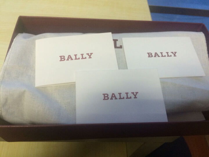 BALLY 巴利 男款黑色牛皮压纹长款钱包钱夹 NICOLO 00 晒单图