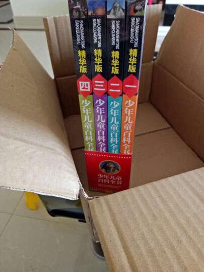最受孩子欢迎的经典科普读物:少年儿童百科全书(精华版 套装共4册) 晒单图