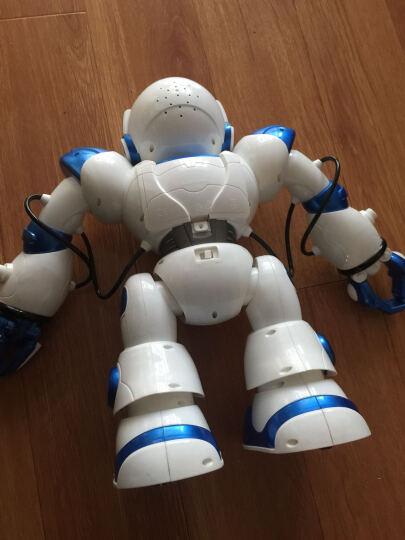 盈佳智能机器人玩具儿童遥控电动跳舞机械人对战可编程 【升级款黑色】语音对话机械战警 晒单图