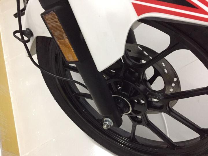 启典KIDEN摩托车 升级版KD150-H 单缸风冷150cc骑式车 珍珠白 标准款 晒单图