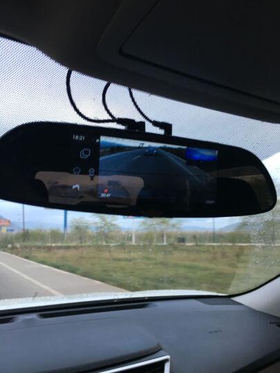 凌度智能行车记录仪导航带电子狗后视镜行双镜头大广角高清1080P夜视车载 3G流量导航版+蓝牙+WIFI+32G卡 晒单图