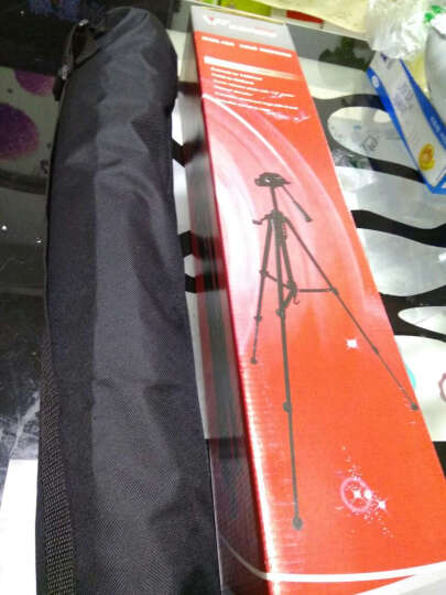 伟峰(WEIFENG)WF-318A 便携迷你三脚架 手机自拍支架 视频会议桌面 单反微单卡片相机摄像机微距三角架 晒单图