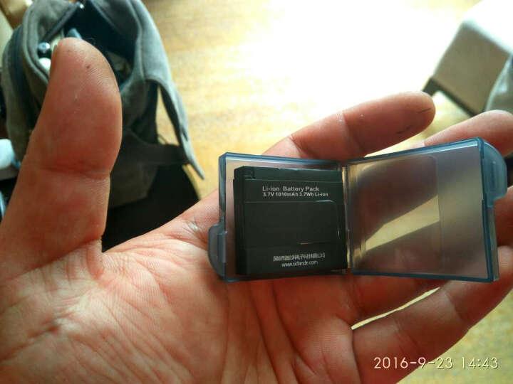 斯丹德(sidande)小蚁双充充电器 小蚁运动相机电池充电器 摄像机电池配件 晒单图