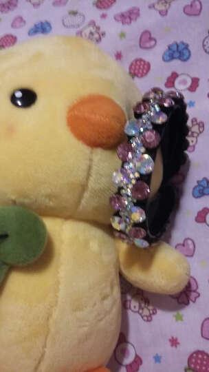 奇色 韩版花苞头发扣 马尾扣夹马尾夹发夹发卡夹子头饰 粉色 晒单图