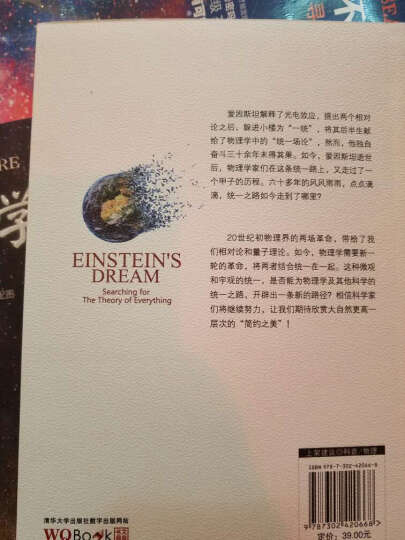 爱因斯坦与万物之理:统一路上人和事 晒单图