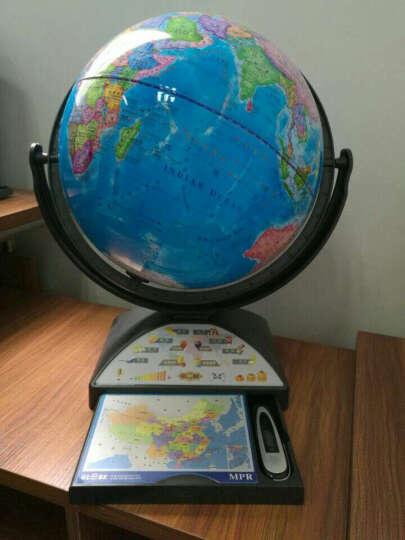 GLOBE MPR 语音点读地球仪3D立体AR智能中英文教学高清悬浮32cm摆件学习用品生日礼物 S1:标配点读版 晒单图