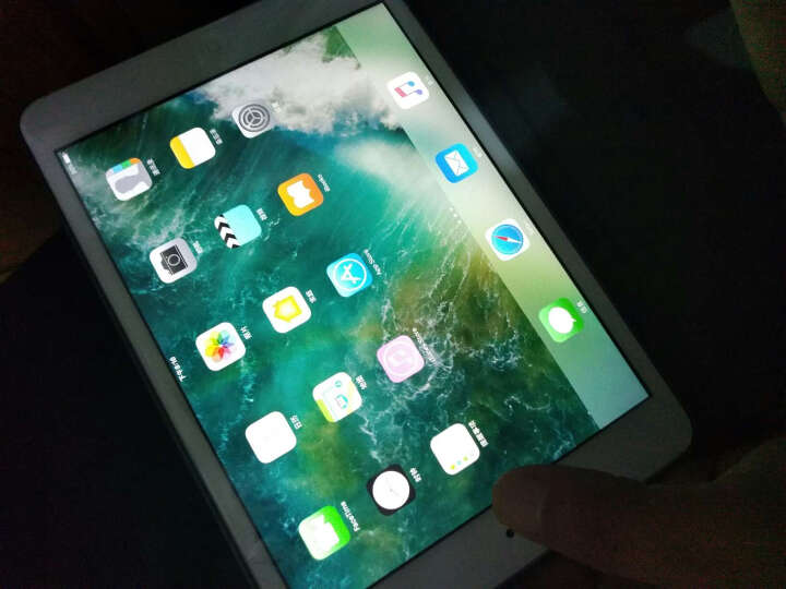 【套装版】Apple iPad mini 2 7.9英寸平板电脑 银色(32G WLAN版 ME280CH)及保护膜套装 晒单图