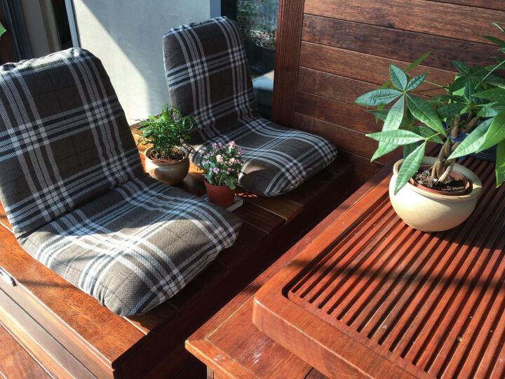 和乐音色日式和室椅榻榻米折叠懒人椅子布艺单人床上椅人气安心日本制多种尺寸可选 北欧灰-647GRY S 晒单图