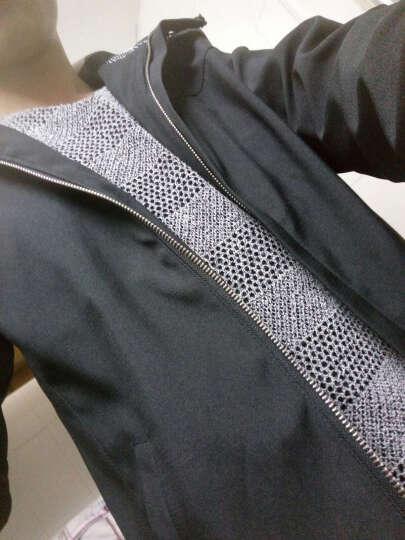 原调(Waalltune)夏款防晒衣男薄款夹克男装空调外套轻薄透气速干衣服潮FS50 绿色 L 晒单图