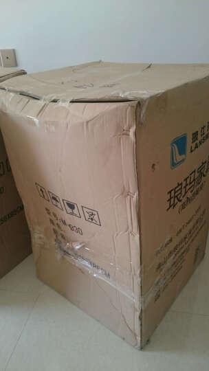 上海办公家具洽谈桌椅组合会客桌椅售楼处接待桌椅会议椅咖啡厅休闲座椅 中国红 3+1桌椅组合 晒单图
