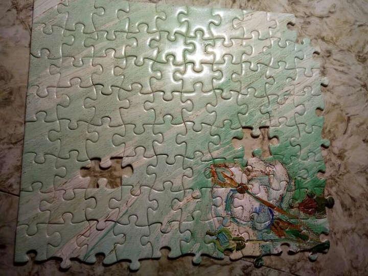 古部玩具 成人拼图1000片 典藏版世界名画油画1000片拼图-白玫瑰11CF01K2007 晒单图