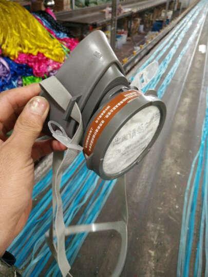 3M 防尘口罩 3200防毒口罩 防毒面具 防化工气体 喷漆 农药 甲醛 防工业粉尘面罩 主体-3200半面罩(1个) 晒单图