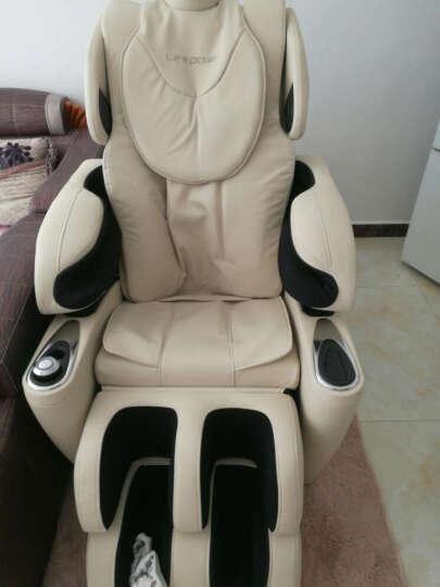 生命动力(Lifepower) 按摩椅全身豪华多功能电动按摩椅家用LP-5400S 白色 晒单图