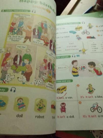 正版外研社新概念英语青少版1A学生用书+新概念英语练习册(附DVD+mp3) 少儿英语教材 晒单图