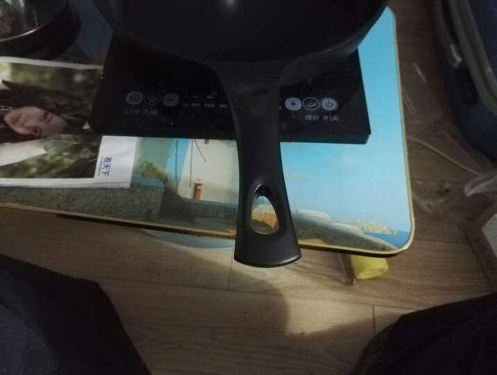 恩腾(ANANTA)32cm平底锅煎锅不粘锅炒菜锅少油烟电磁炉通用 32cm有盖子 晒单图