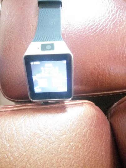 【赠送备用电池】半兽人 触屏智能手表手机蓝牙插卡电话手表 金属银 晒单图