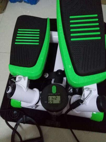 比纳 踏步机家用 减肥健身器材液压静音瘦腰腿  左右摇摆 大尺寸免安装 升级款-紫色 晒单图