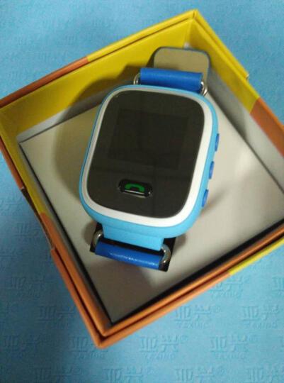 【京东配送】 金迪奥儿童智能手表 学生儿童定位手表手机男女 定位通话手环手机 蓝色触摸屏升级版 晒单图