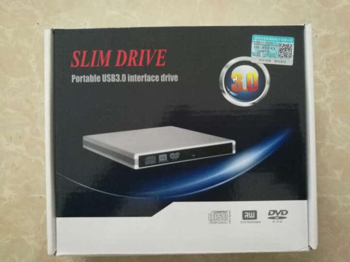 F.L 外置光驱 USB3.0 蓝光DVD刻录机 combo移动光驱 台式机笔记本通用 USB3.0【刻录+读蓝光碟】黑色 晒单图