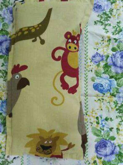 龙之涵(LONGZHIHAN) 龙之涵婴儿睡袋 调温双内胆宝宝睡袋 儿童睡袋防踢被纯棉 蓝色鲨鱼 60*100(双胆款) 晒单图