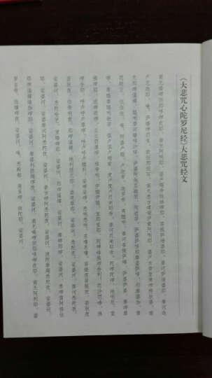 欧阳询楷书集大悲咒(写经选14) 晒单图