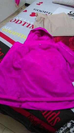 camkids垦牧儿童冲锋衣男童女童三合一抓绒保暖登山户外服装冬季御寒童装 荧光绿(男童) 150 晒单图