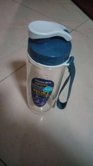 茶花(CHAHUA)塑料水杯随手杯多规格直纹杯 水滴纹 运动杯 家庭水杯 直纹3810容量500ml 晒单图