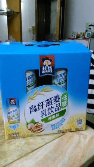 桂格(QUAKER)高纤燕麦乳麦香原味350ML* 3联瓶 晒单图