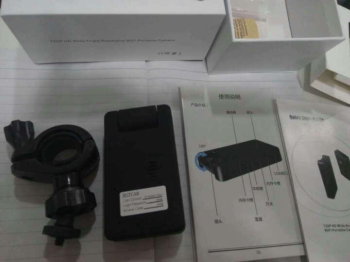 安爸(ANBA)闹钟非隐蔽监控摄像头无线摄像头wifi 微型非隐形迷你监控摄像机 录音录像 蓝牙耳机摄像头 8G 晒单图