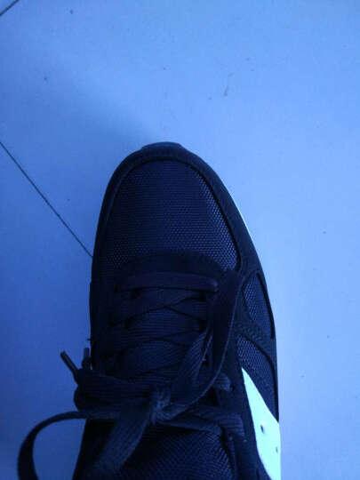 悍捷路 男士休闲鞋 男鞋 透气网布鞋  韩版运动板鞋 鞋子男款 黑色透气 41 晒单图