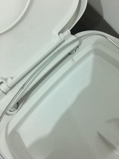 移动马桶坐便器便携塑料老人孕妇分体式简易车载旅行座便器 白色室内 晒单图