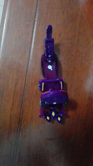 灵动创想 爆兽猎人爆兽蛋磁性神斗卡拍拍卡对战变形机器人儿童玩具 重装剑龙(新品) 晒单图