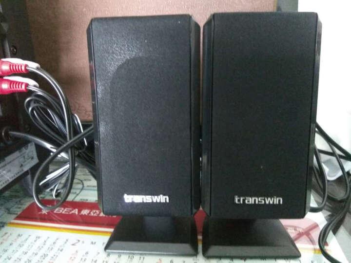 全微(transwin)T-200N 蓝牙音响 低音炮电脑笔记本音箱 蓝牙多媒体台式2.1木质音箱 黑色蓝牙版 晒单图