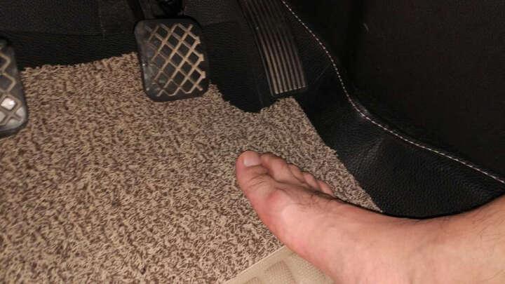 代安 汽车脚垫 丝圈脚垫 环保耐磨加厚 专车专用脚垫 配套订制汽车地毯 丝圈脚垫=主驾驶+副驾驶+后排 --七色可选 现代新悦动/ix35/ix25/朗动/伊兰特/瑞纳 晒单图