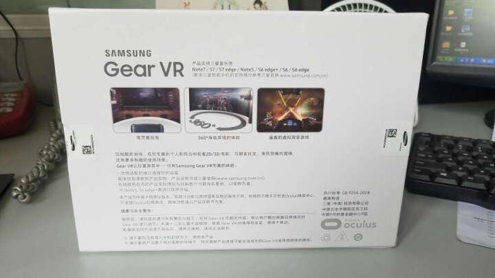 三星Gear vr4 新一代 虚拟现实眼镜 3D智能 四代 原装VR眼镜 成人VR眼镜S7 仅适用于 三星S6系列 S7系列 NOTE5 晒单图