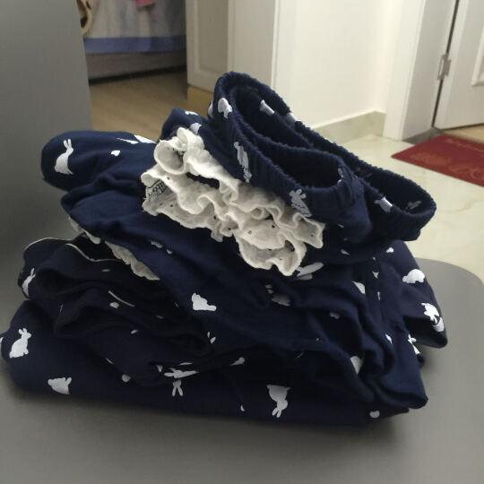 幻想曲情侣睡衣女春季家居服长袖男士纯棉卡通休闲套装 531005蓝色男款 L码/大码 晒单图