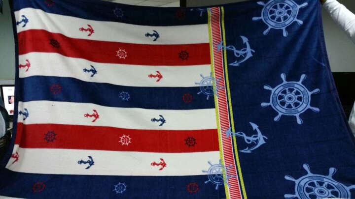 棉花语 法兰绒毛毯加厚秋冬季毯办公室午睡毯子 单双人毛巾被盖毯珊瑚绒沙发毯床单定制团购礼品 快乐牛奶 150*200cm单人床 晒单图