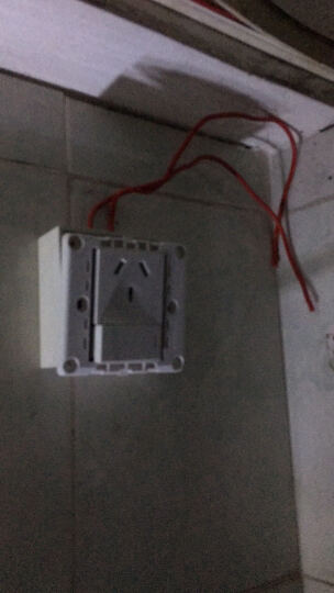 公牛16a插座面板 空调插座带开关 86型大功率16A插座 空调热水器插座G07E204A 晒单图