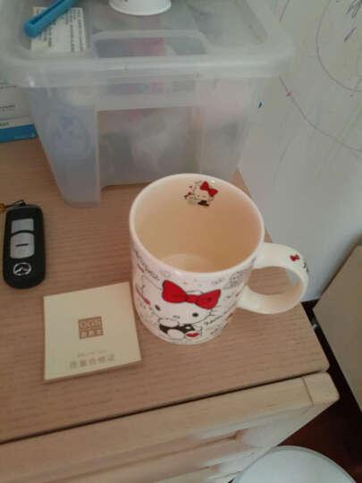 HELLO KITTY(凯蒂猫) 马克杯咖啡杯子 陶瓷杯水杯创意情侣牛奶早晨奶茶杯 蓝色 晒单图