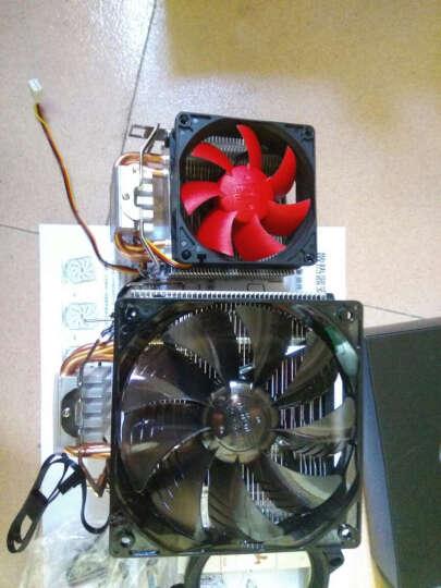超频三(PCCOOLER)东海X5 CPU散热器(多平台/支持AM4/1151/5热管/PWM温控/12CM静音风扇/附带硅脂) 晒单图