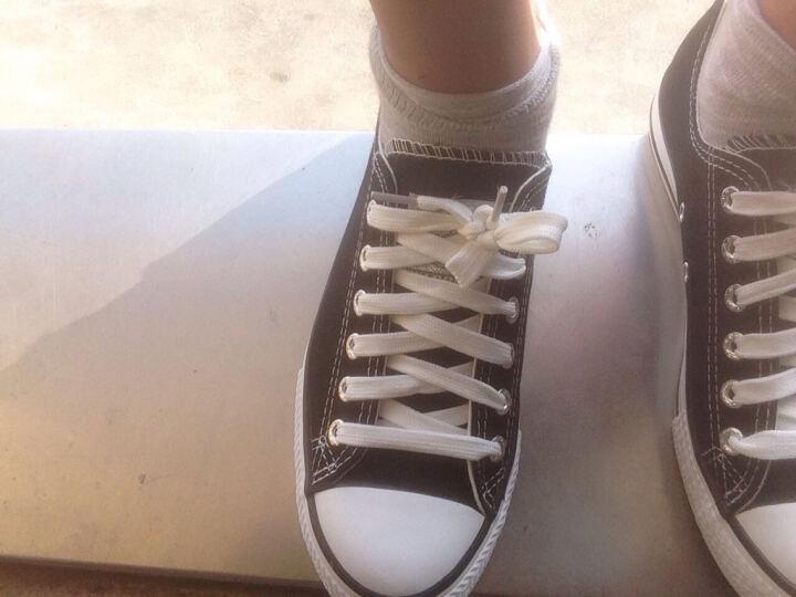 回力帆布鞋男女情侣款板鞋男春夏季韩版休闲帆布男鞋低帮平底男鞋子 白色高帮HL473T(女款选小一码 男鞋正常码) 43 晒单图