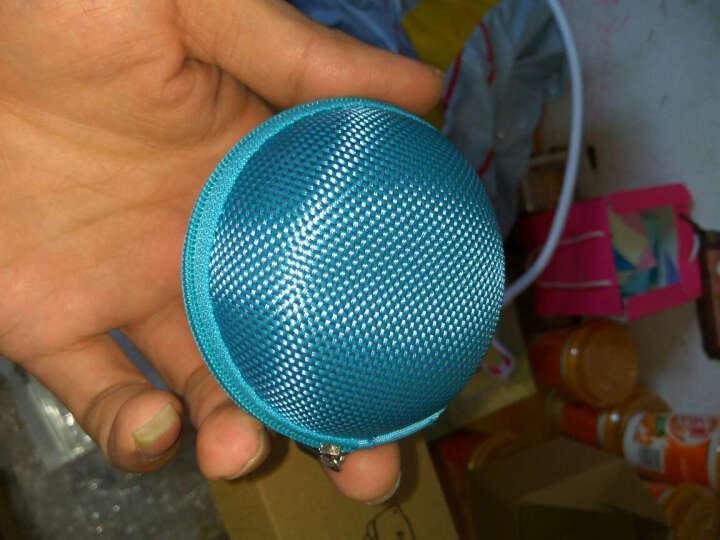 哈马 便携收纳包 多功能收纳盒 耳机收纳袋 数据线包 防震防压 中码长方形收纳盒-粉色 晒单图