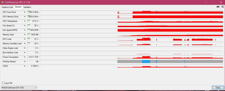 七彩虹(Colorful)iGame1070烈焰战神U-8GD5 Top GTX1070 1569-1759MHz/8008MHz8G/256bit吃鸡显卡 晒单图