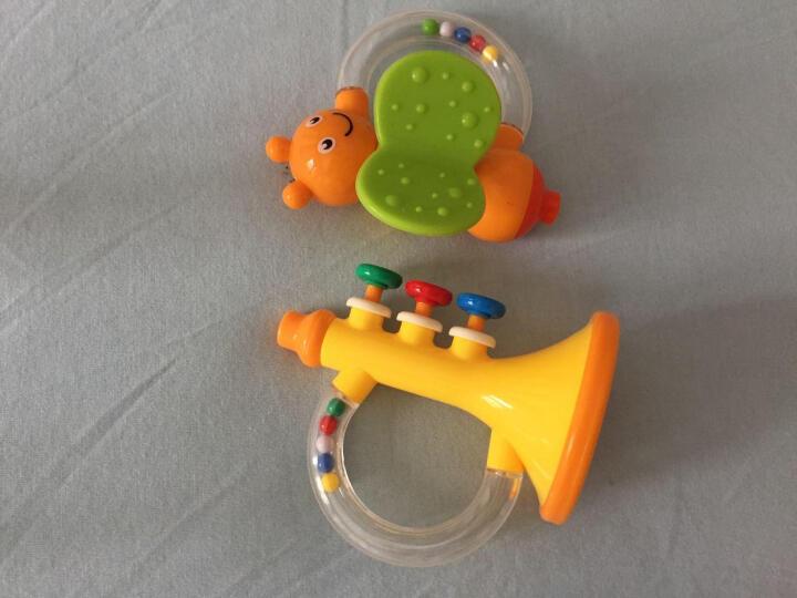 活石 婴儿摇铃 宝宝床铃奶瓶玩具新生儿套装手摇铃0-1岁 礼盒精装8件套 晒单图