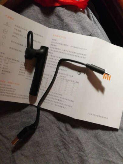 小米蓝牙耳机青春版 黑色 挂耳式无线运动 通用耳塞 晒单图